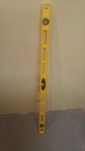 4' long Stanley level