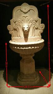 Water fountain - Indoor / Outdoor Elegant Lion Head