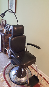 Retired Physicians Medical Examining Chair. Best offer takes it!
