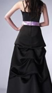 New with tags Long black gown .. wedding/ grad