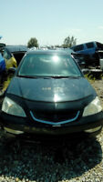 ACURA 2002 1.7EL  4Dr 0WD Sedan  for parts only