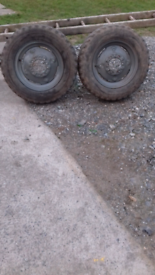 Massey front wheels
