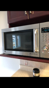 Stainless steel General Electric Microwave Browner (Like New)