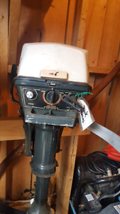 Johnson 4hp boat motor