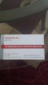 Senior Immigration Clerk