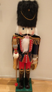 RARE Excellent Condition 3' Tall NutCracker Collectible