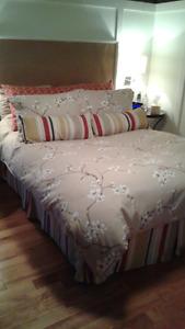 Literie pour lit double