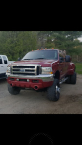 2001 F350 Dually (Texas Truck Pull Build)