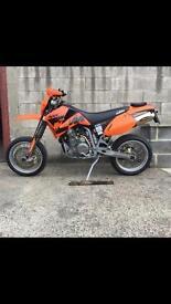 2004 54 KTM 660 SMC Supermoto Motorcycle