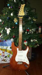 One of a kind custom Guitar