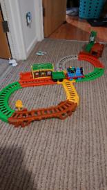 Thomas track and flip Thomas