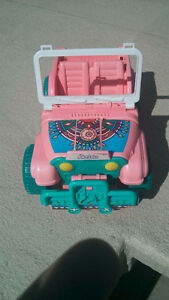 Jeep Barbie
