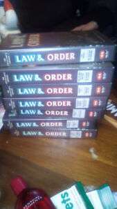 Law and order VHS set