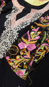 Indian style Two piece shalwar suits large size