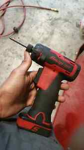 Cordless hex drill snap on