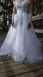 New wedding dress size 2