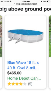 Looking for a above ground swimming pool