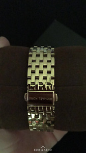 Gold MK watch for sale brand new