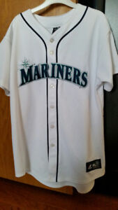 Very Good Condition Authentic Seattle Mariners MLB Jersey - YXL