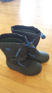 Sorel kids boots size 1 used