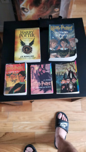 Harry potter tome 1/2/4/5 + 8