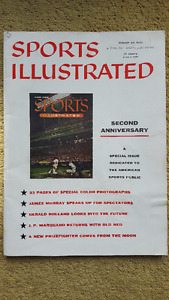 Sports Illustrated August 20, 1956 2nd Anniv Issue, Football