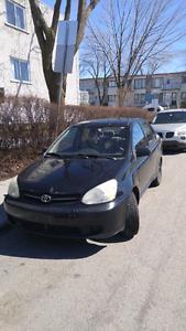 Toyota Echo 2004! Aubaine! NEGO
