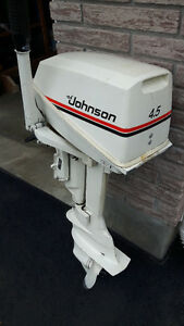 4.5 Johnson outboard motor