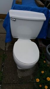 NEARLY NEW INSULATED TOILET WITH SEAT
