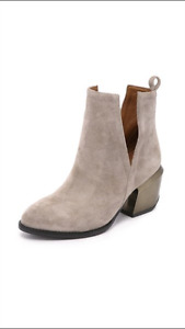 Bottes taupe Jeffrey Campbell (Little Burgundy)