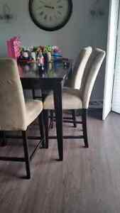 Pub Style 6 person dining Table