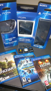 VITA Accessories and Games for Sale or Trade