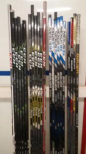 Repaired hockey sticks/sales - Trigger, Super Tacks, 1X, 1N...