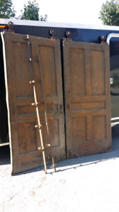 Antique Pocket Doors