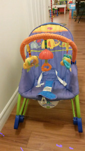 Vibrating and rocking chair