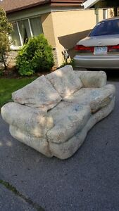 FREE love seat in my driveway