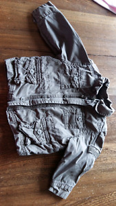 Boys army jacket