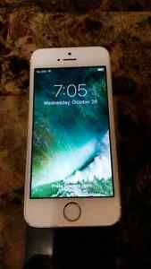 IPhone 5s 16gb gold Fido / Rogers