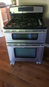 Jenn Air Double Oven Gas