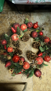 Assorted wreaths, get them all for $30