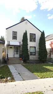 Fully Renovated 2BR + Mudroom St Boniface Duplex For Rent