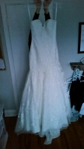 Allure wedding dress from garbers
