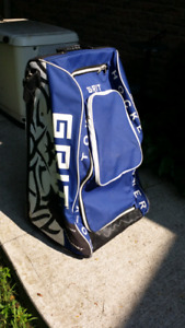 GRIT hockey tower rolling gear equipment bag