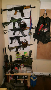 High to Low end paintball markers and gear