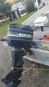 1986 mercury 35hp .