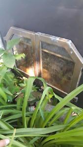 Foyer combustion lente encastrable