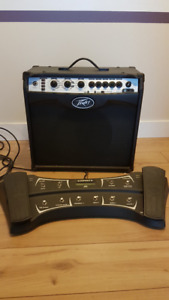 Peavey vypyr vip 2 guitar amp with foot controller