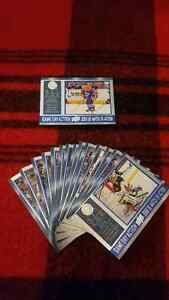 Tim Horton cards for sale or trade at the CLB Flee Market Sunday St. John's Newfoundland image 2