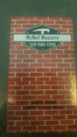 McNeil Masonry,  repointing and brick specialist