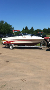 Bateau 19 pied trade for skidoo